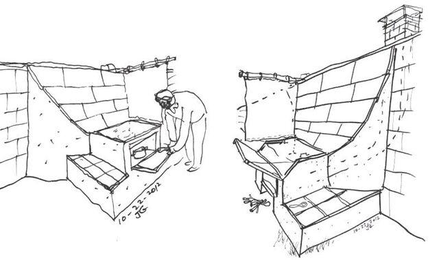 File:Fixed reflector for solar oven, Joel Goodman, 10-24-12.jpg