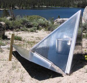 Solar Reflex Pyramid