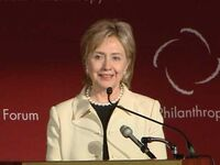 Hilary Clinton - Global Philanthropy Conf 2009
