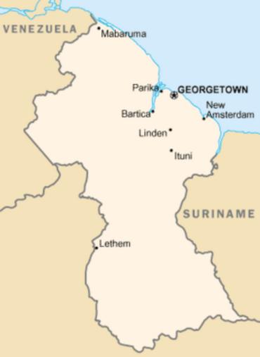279px-Guyana-map