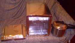 Fogao Solar heat retention box 2