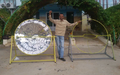 Auja Eco Center builds another solar cooker, 11-30-14.png