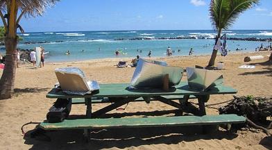 File:Solar cooking Kauai style.jpg