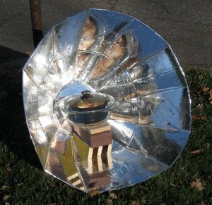 EB Suncooker, 1-14-16