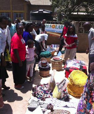 Faustine Odaba workshop Nairobi, 10-10-13