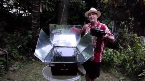 The German Chef solar cooking explained