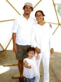 Ruddy Viscarra y familia 2008