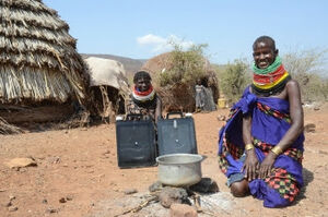 SOLVATTEN safe water in Kenya, 10-4-14