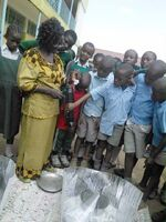 Odaba Haines cooker at Jericho PR School 2016