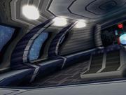 Tails spaceship interior