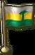 SU Mazuri Miniature Flag