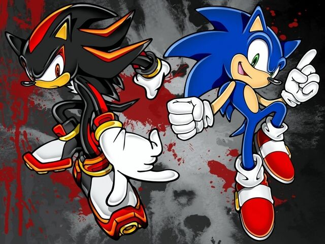 File:Sonic and Shadow Wallpaper by david tiziu.jpg