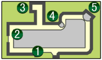 Casino District Map