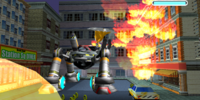 Flame Thrower Attack
