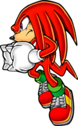 Sonic Art Assets DVD - Knuckles - 1