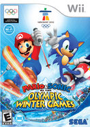 Mario and Sonic at the Olympic games official cover