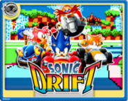 Sonic Drift Online Card