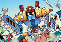 Obliterator Bot Archie Comics