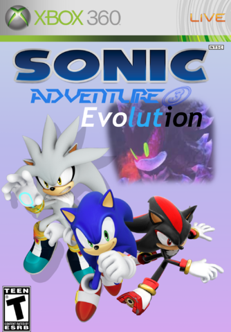 File:Sonic Evolution Cover Redone.png