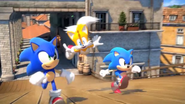 Sonic and Tails in Generations