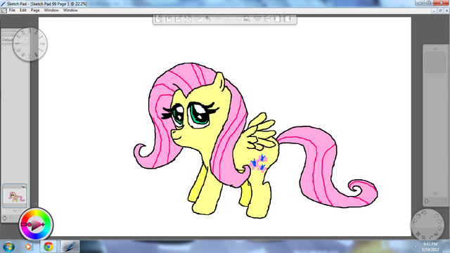 File:Fluttershy by Metal.png