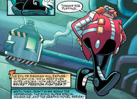 Eggman defeated Snively
