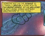 Master Mogul's hand