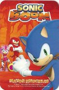 Sonic Boom Collector Cards Reverse