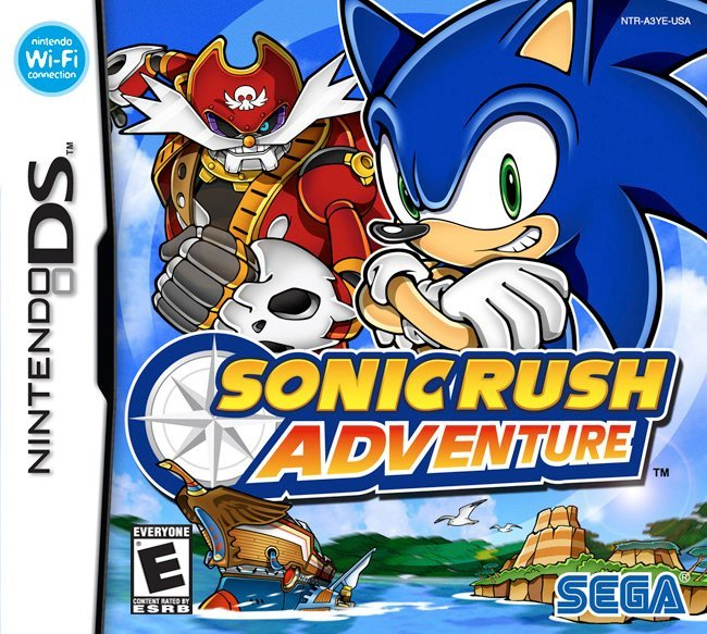Sonic Rush Adventure game cover