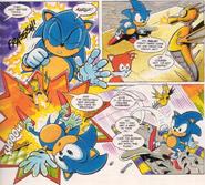 Aquis Sonic the Comic