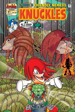 File:Archie Knuckles Mini Series Issue 1.jpg
