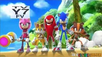 Sonic Boom Opening (Intro) HD