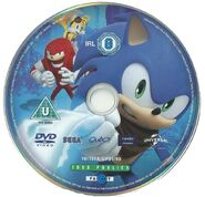 Sonic Boom Volume 1 Disc