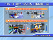 Sonic Riders PS2 Trial Instructions 2
