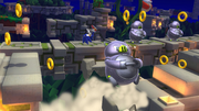 Ball Hogs are not messing around in Sonic Lost World