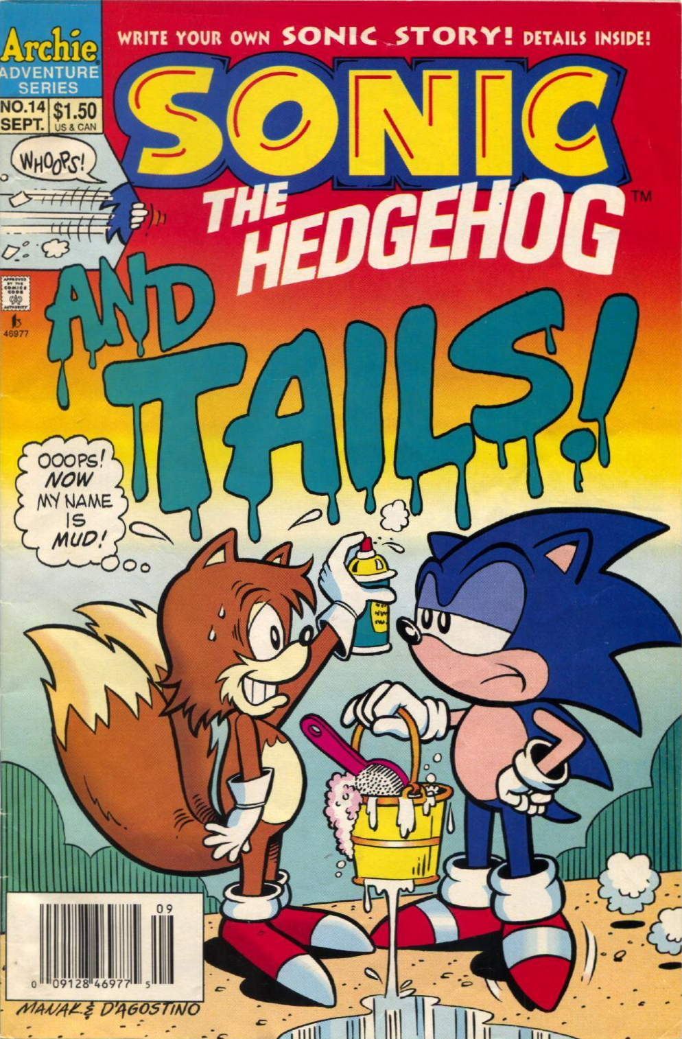 Archie Sonic The Hedgehog Issue 14 Sonic News Network