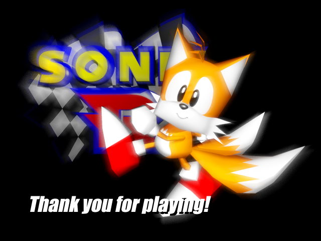 File:Sonic R - Tails (Ending Screen).png
