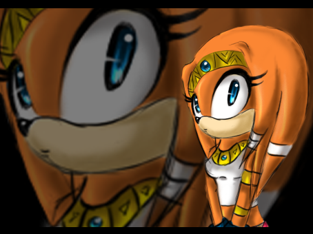 File:Tikal the echidna by cosmoyourangel.png