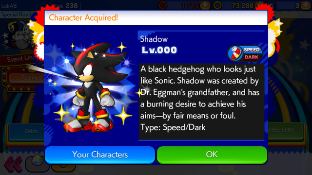 File:Sonic Runners Shadow unlocked.png