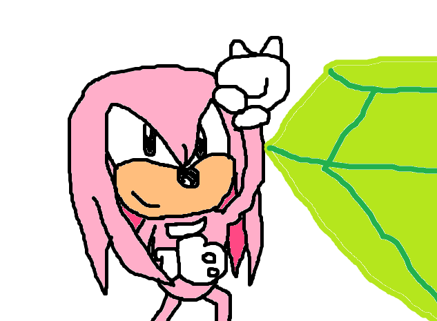 File:Super Knuckles and Master Emerald.png