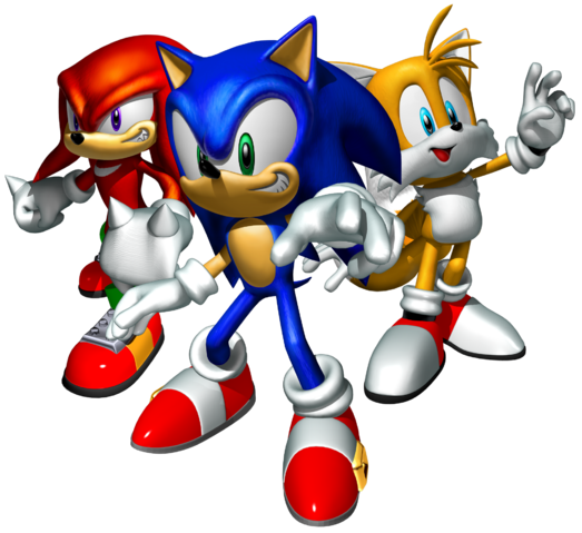 File:Sonic Heroes Artwork - Team Sonic.png