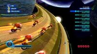Sonic Colors (Wii) Asteroid Coaster Act 4 S-Rank