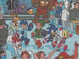 Sonic in Monica's Gang