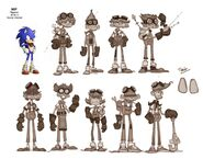 Eggman Sonic Boom Early Art