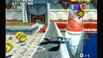Sonic Heroes - Team Chaotix - Stage 2 Ocean Palace (A-Rank)