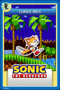 Classic Tails Card