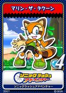Sonic Rush Adventure 13 Marine the Racoon