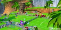 Green Hill Zone (Sega Superstars Tennis)