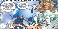 Archie Sonic the Hedgehog Issue 202