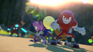 Knuckles Sonic Boom game